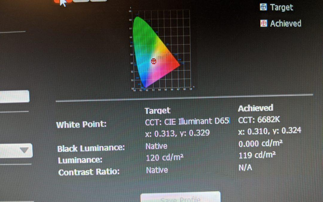 Preparation: System Color Calibration